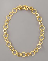 Stephanie Anne Regency Chain Necklace, 18l gold - Lyst