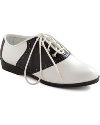 ModCloth Who Could Be Saddle Shoes - Lyst