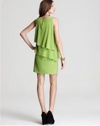 Julie Dillon - Dress Tiered Shift Dress - Lyst