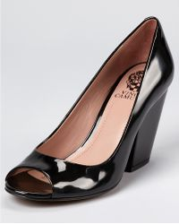 Vince Camuto Berit Chunky Heels - Lyst