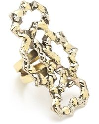 Anndra Neen - Four Part Melted Ring - Lyst