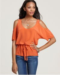 Laugh Cry Repeat - Top Open Shoulder - Lyst