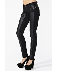 Nasty Gal Dragon Moto Jeans - Lyst