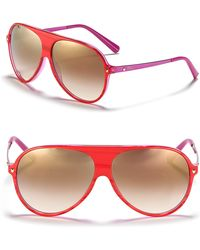 Dior Aviator Sunglasses with Colored Internal Frame - Lyst