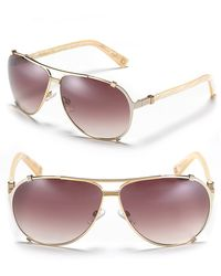 Dior Chicago 2 Aviator Sunglasses - Lyst