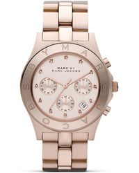 Marc By Marc Jacobs Blade Watch pink - Lyst