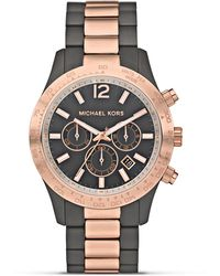 Michael Kors Michael Mens Round Two Tone Sport Watch  - Lyst