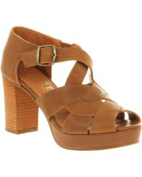 Office Village Life Tan Leather - Lyst