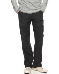 Calvin Klein Textured Cargo Pants - Lyst