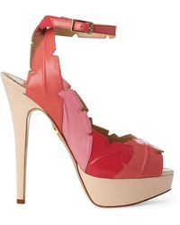 Charlotte Olympia Leaf Me Alone Ankle Sandals - Lyst