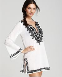 Debbie Katz - Sahara Embroidered Tunic - Lyst