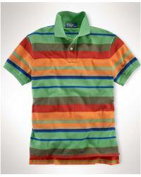 Ralph Lauren Striped Polo Shirt - Lyst