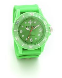 Rumbatime Double Dare Perry Slap Watch - Lyst