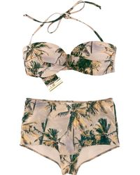 H&M Bikini beige - Lyst