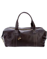 Loro Piana - Fab Leather Holdall Bag - Lyst