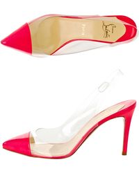 Christian Louboutin Un Bout Sling 85mm Shoe - Lyst