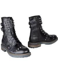 Frankie Morello - Combat Boots - Lyst