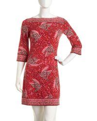 Julie Dillon - Birdprint Jersey Dress - Lyst