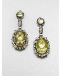 Konstantino Semiprecious Multistone Sterling Silver Drop Earrings - Lyst
