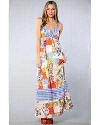 Quiksilver The Bells Beach Maxi Dress - Lyst