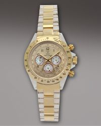Toy Watch - Chronograph Heavy Metal Watch, Golden - Lyst