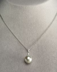 Assael - Gray Pearl Pendant Necklace - Lyst