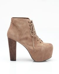 Jeffrey Campbell Lita Ankle Bootie - Lyst