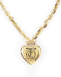 Juicy Couture - Royal Heart Necklace - Lyst