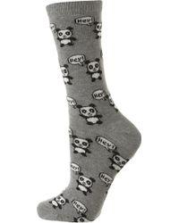 Topshop Panda Ankle Socks - Lyst