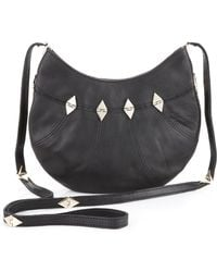 Foley + Corinna Foley + Corinna Tiny City Cross Body Bag With Haircalf - Black Pony - Lyst