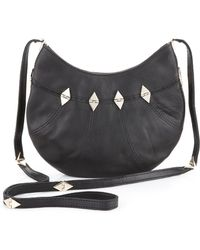 Foley + Corinna Foley + Corinna Tiny City Cross Body Bag With Haircalf - Black Pony black - Lyst