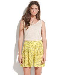 Madewell Rosette Silk Shorts - Lyst