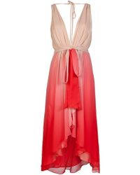 Haute Hippie Ombre Dress - Lyst