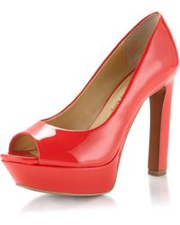 Luxury Rebel - Pumps Carlita Peep Toe Platforms - Lyst