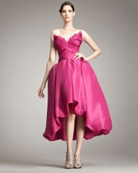Marchesa Couture Bubble-skirt Gown - Lyst