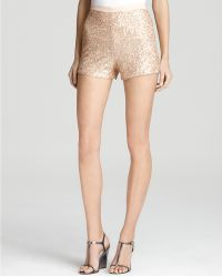 French Connection Shorts Fast Mini Sequin - Lyst