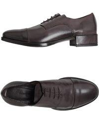 Roberto Del Carlo Roberto Del Carlo Laced Shoes - Lyst
