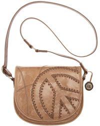 The Sak Topanga Leather Saddle Bag - Lyst