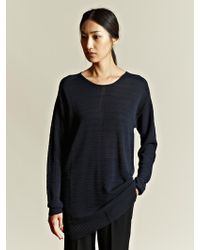 Damir Doma   Damir Doma Womens Oversized Knitted Jumper   Lyst
