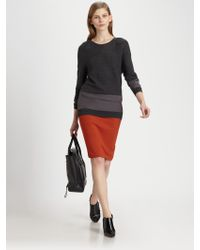 3.1 Phillip Lim Silkpanel Merino Wool Sweater - Lyst
