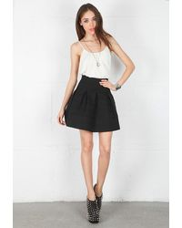 Pleasure Doing Business Pleasure Doing Business 8 Band Pleated Skirt - Lyst