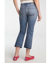 Kut From The Kloth Simone Crop Flare Leg Jeans - Lyst