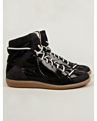 Maison Margiela 22 Mens Mid Top Lace Sneaker - Lyst