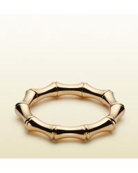 Gucci Bamboo Large Bracelet - Lyst