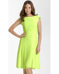 Nanette Lepore Picture Day Neon Chiffon Dress - Lyst