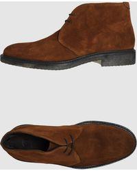 Cerbero Hightop Dress Shoe - Lyst