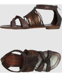 Francesco Morichetti Sandals - Lyst