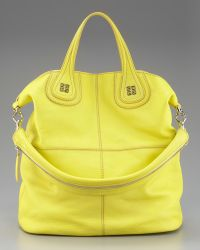 Givenchy North South Nightingale Tote Bright Yellow - Lyst