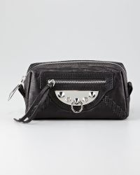 Sam Edelman - Cosmetic Marais Leather Bag - Lyst