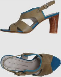 Marc By Marc Jacobs Highheeled Sandals - Lyst